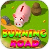 Burning Road road