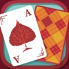 Solitaire Match 2 Cards. Thanksgiving Day Card Game