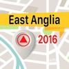 East Anglia 離線地圖導航和指南