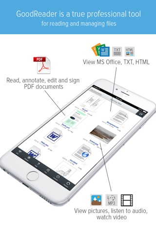 GoodReader - PDF Reader, Annotator and File Manager screenshot 1