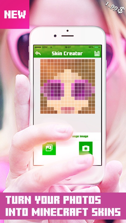 My Face to Skin for Minecraft PE & PC - Skins Editor ( Free