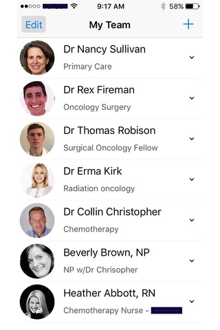 My team - Connect to Your Healthcare Providers screenshot 4