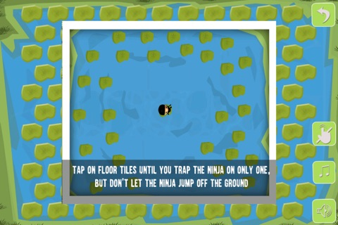 Amazing Ninja Trap Showdown - cool mind strategy puzzle game screenshot 2