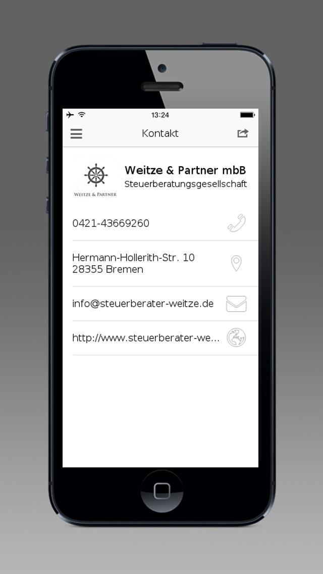 Screenshot von Weitze & Partner mbB5