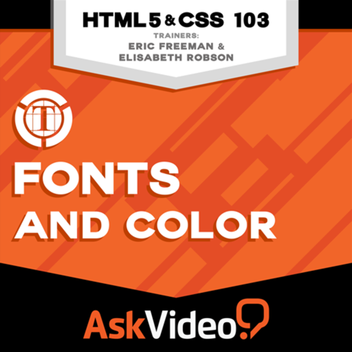 course for html5 and css 103 fonts and color door nonlinear educating inc macprovideo com