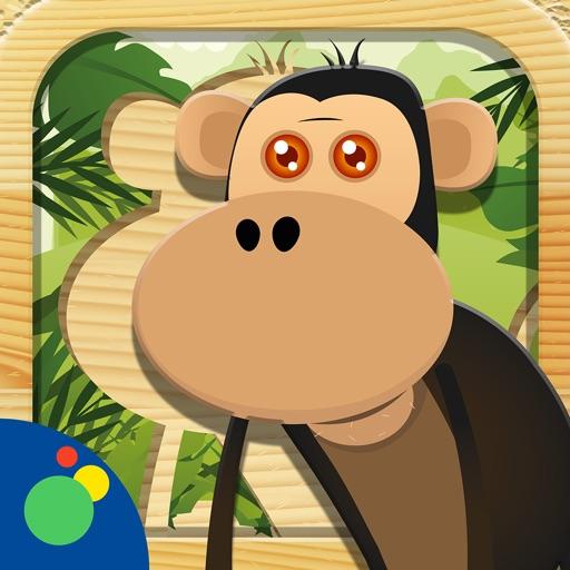 Jungle Animal Puzzle HD iOS App