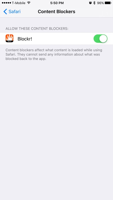 Blockr- Stop Ads once and for all Screenshot