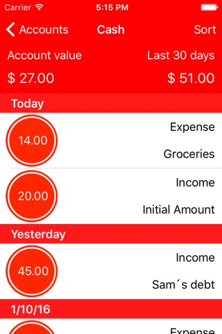 Point - Personal Finance Tracker screenshot 2