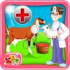 ヤギの妊娠術 - 子供のためのペットの獣医医師&病院シミュレーターのゲーム