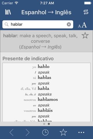 Spanish-English Translation Dictionary and Verbs screenshot 2