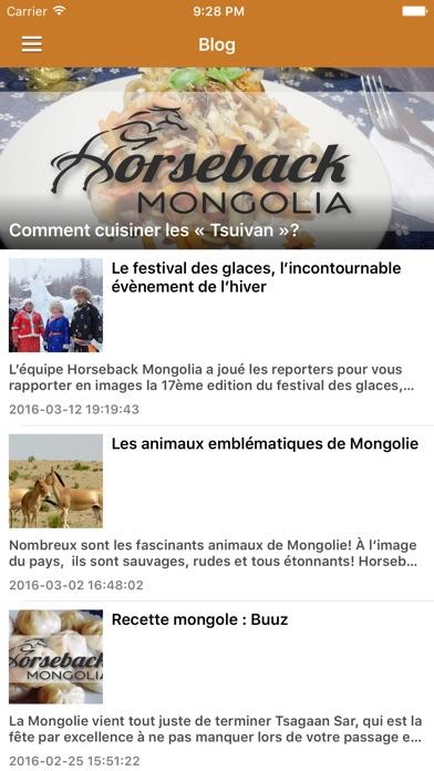 Voyage MongolieCapture d'écran de 3