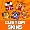 Custom Skins for Minecraft - Girl, Boy, Animal and Funny Skin