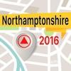 Northamptonshire 離線地圖導航和指南