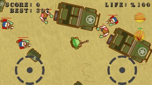 Cartoon Zombie Shooter Screenshot