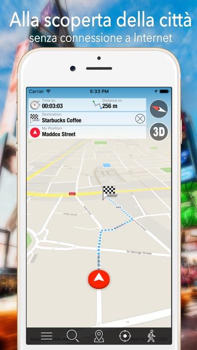 Screenshot of Kuala Lumpur Offline Mappa Navigatore e Guida1
