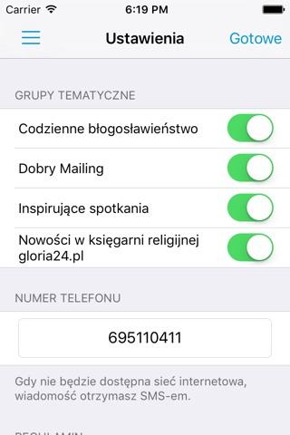 Mocne Słowo screenshot 2