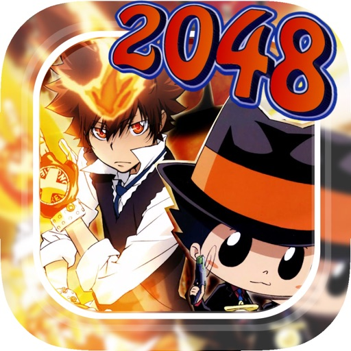 """2048 Manga And Anime - """" Characters Puzzles Numbers"""