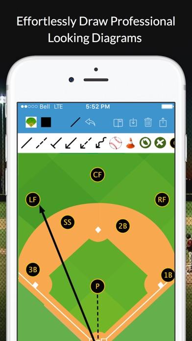 Baseball blueprint on the app store for App for blueprints