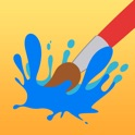iPaint uPaint: wireless finger-painting with a friend! icon