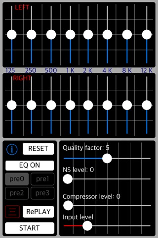 Listening Tuner - sound capture amplifier screenshot 2