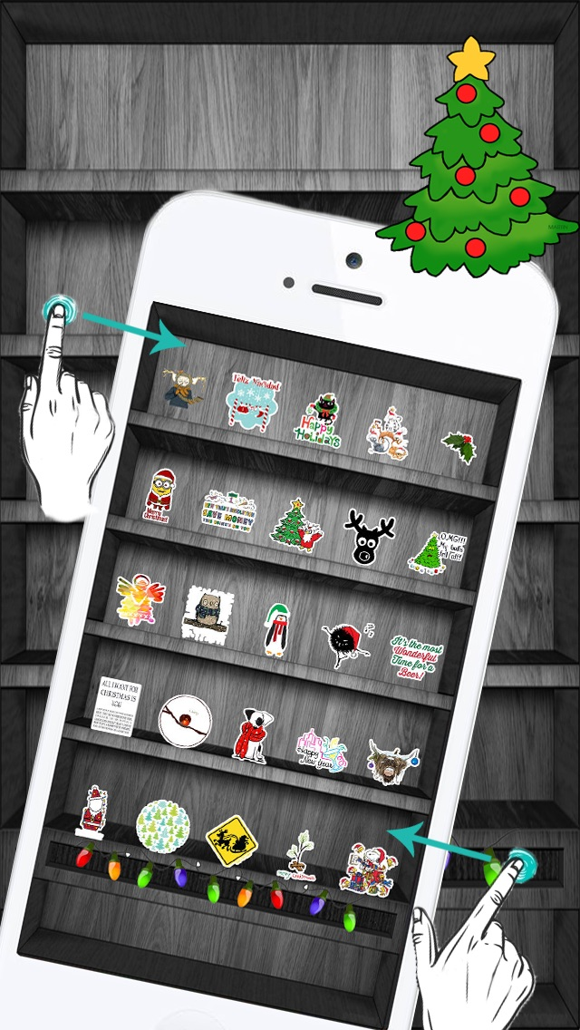 download Christmas & Winter Holiday Stickers Pro ! apps 0