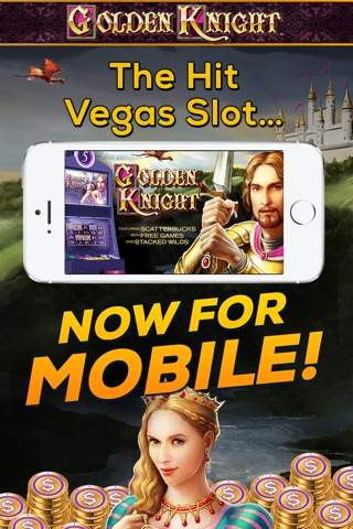 Golden Knight: FREE Vegas Slot Game screenshot 1