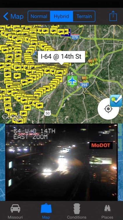 Traffic Map St Louis.Missouri Kansas City St Louis Travel Traffic Noaa All In 1 Pro By
