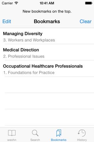 Essentials for Occupational Health Nursing screenshot 4