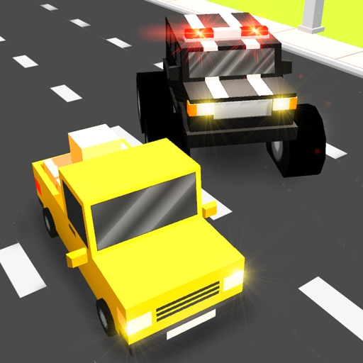 Pixel Smashy Race 3D: Cop Chase Full