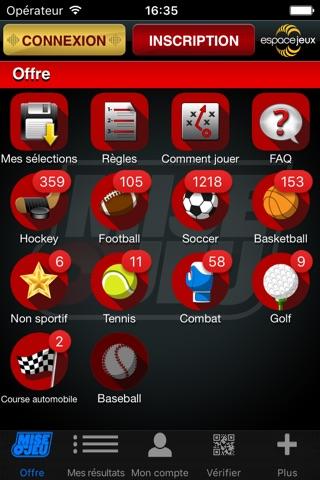 Mise-o-jeu screenshot 1
