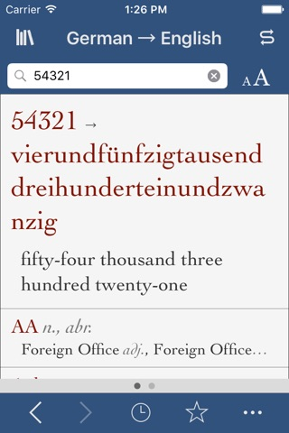 German-English Translation Dictionary and Verbs screenshot 3