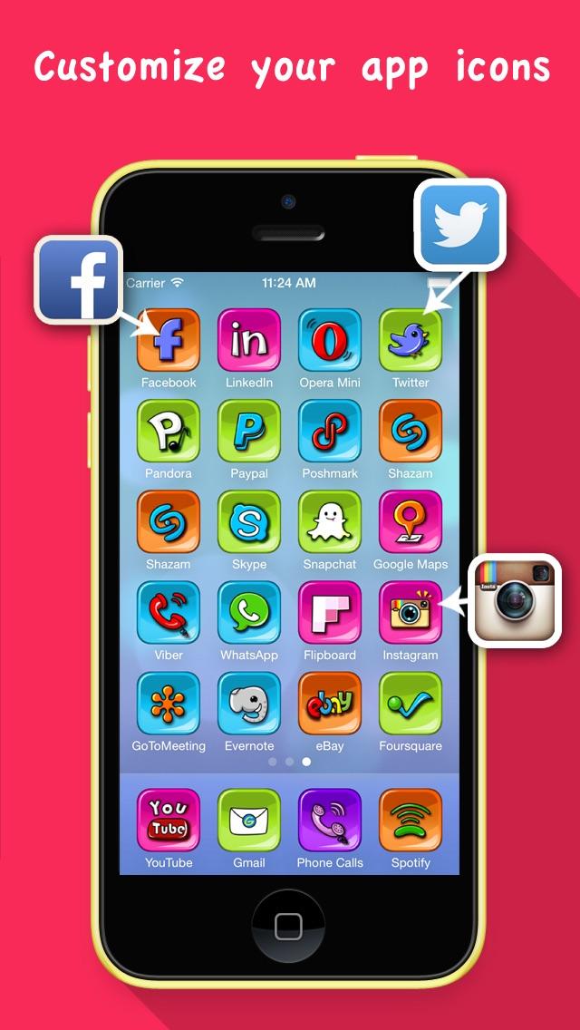 App Icon Skins Pro Customize Your App Icon Free Iphone Ipad App Market