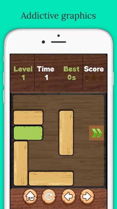 Free to move: Unblock King Puzzle Screenshot