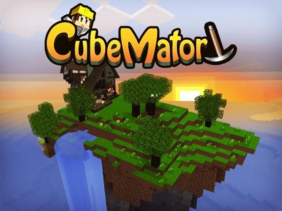 CubeMator - бесплатная версия игры Sandbox на iPad