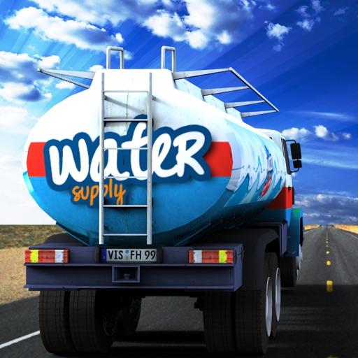 Water Truck Supply Simulator - Real Cargo Transporter & Trucker Game 2016 iOS App