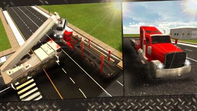 Screenshot von Autounfall-Abschleppwagen-3D-Treiber Spiel4