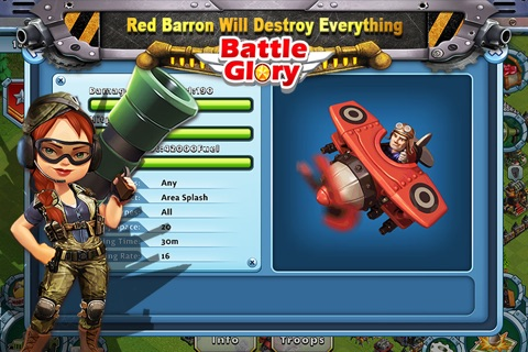Battle Glory - Mech Army War screenshot 3