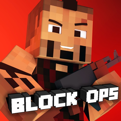 Block Ops Force 3D - Mini Mine Game Survival FPS Pixel Shooter Gun Skins Edition