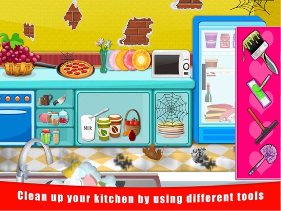 Baby Doll House Cleaning And Decoration Free Fun Games For Kids Boys And Girls App Insight