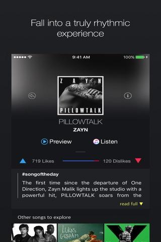Rhythm - Music Discovery Made Simple screenshot 2