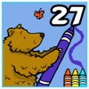 Coloring Book 27: Woodland Animals