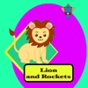 Lion and Rockets