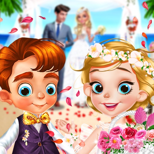 Wedding Adventure - Flower Girl Dress up & Makeup Icon