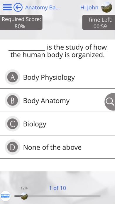 Human Body Anatomy & Strength Anatomy by GoLearningBus Screenshot