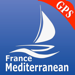 France GPS Mediterranee cartes nautiques