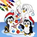 ¡Libro para colorear con imágenes navideñas! icon