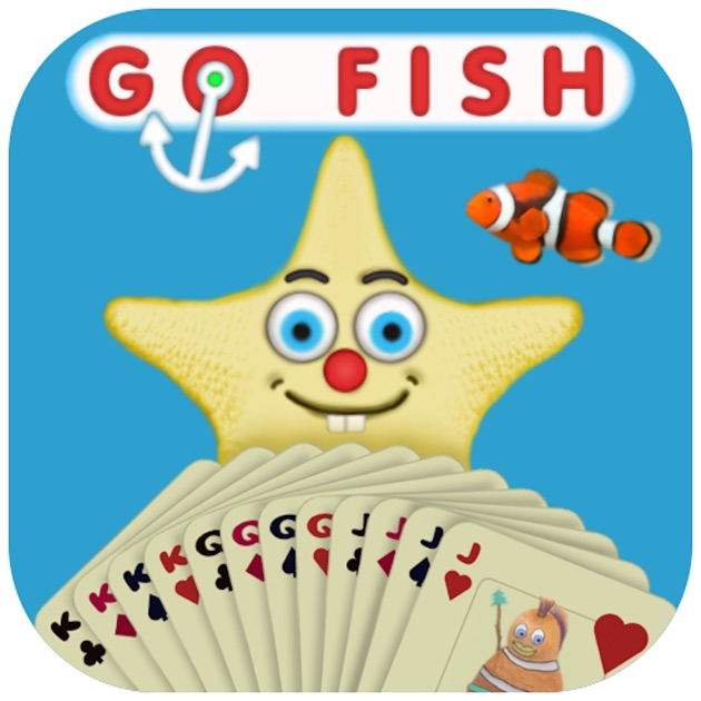 Go fish card game on the app store for Go fish cards