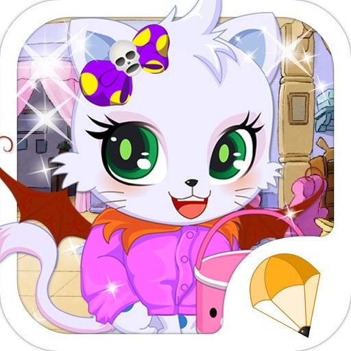 宠物小猫 - 梦幻可爱,换装养成,女生爱玩的小游戏