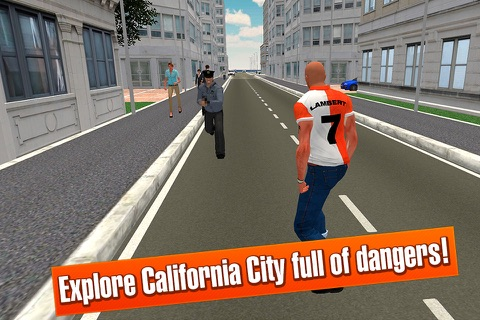 California Car Theft Race 3D screenshot 2