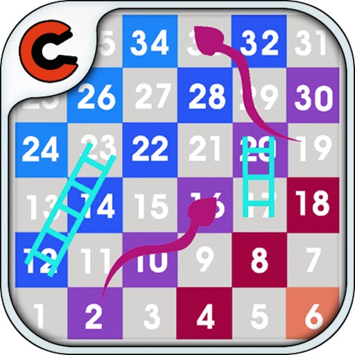 Sketch Snakes and ladders iOS App